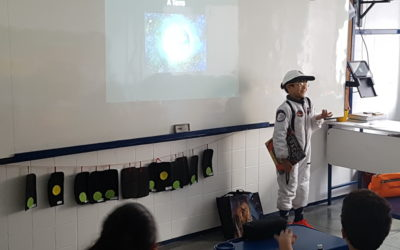 3º Ano espacial com atividades e palestra